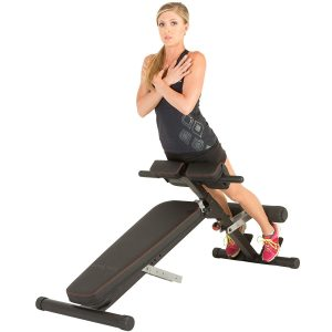 Fitness Reality X-Class Light Commercial Multi-Workout Abdominal:Hyper Back Extension Bench