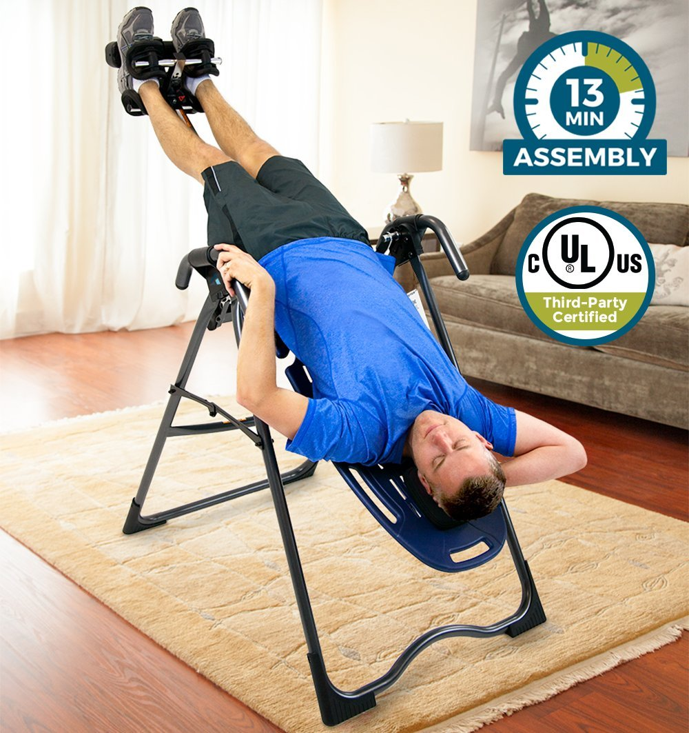 Inversion Balancing Exerciser Table Six Fitness Position 300-lb Weight Capacity