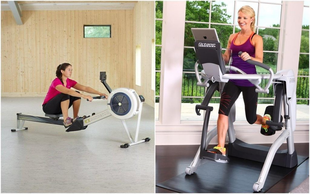 Rowing Machine vs Elliptical Machine