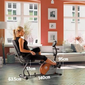 Marcy Recumbent Exercise Bike with Resistance ME-709 Review