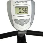 Exerpeutic 900XL extended capacity recumbent bike LCD Display