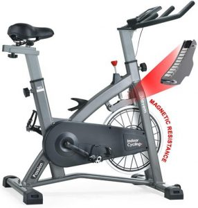 MEVEM Indoor Cycling Bike With Magnetic Resistance