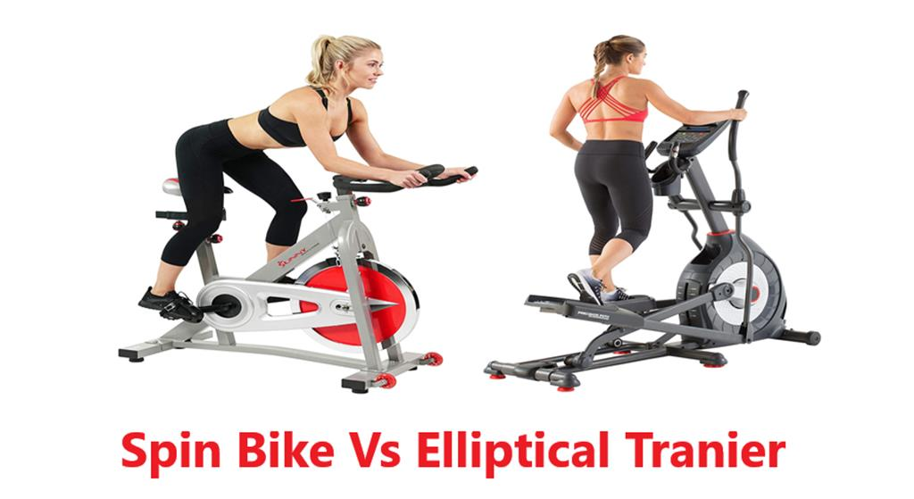 Spin bike Vs Elliptical Trainer