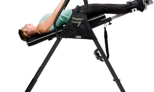Heat and Massage Inversion Table