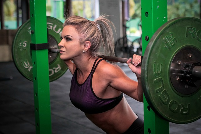 Squat with power rack